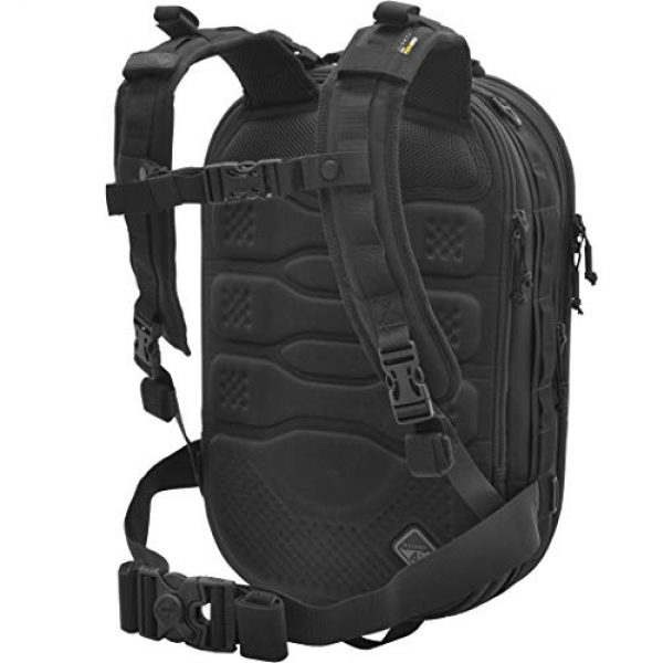 HAZARD 4 Tactical Backpack 5 Hazard 4 Pillbox(TM) Hard-Shell Optics/CCW Pack - Black