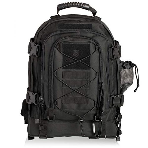 Savage Cut Tactical Backpack 1 Savage Cut Outdoor Expandable 3-Day Survival Tactical Backpack, XL Capacity