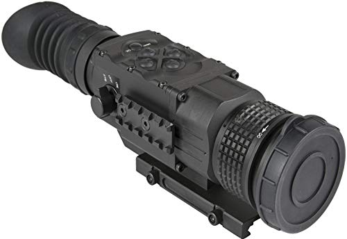 AGM Global Vision Rifle Scope 5 AGM 3093555006PY51 Model Python TS50-640 Medium Range Thermal Imaging Rifle Scope, 640x512 (60Hz) Resolution, 50mm Lens, 2X Optical Magnification, Field of View 14.8x11.8, Waterproof