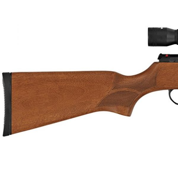 Hatsan Air Rifle 2 Hatsan Mod 95 Vortex Combo, .25cal Airgun, Walnut (HC9525VORT)