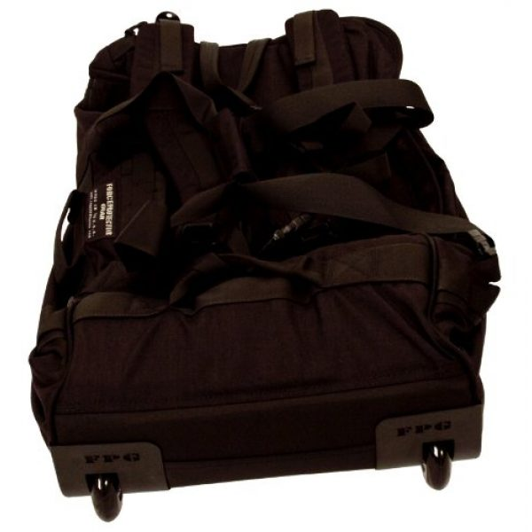 ForceProtector Gear Tactical Backpack 3 Collapsible Deployer Loadout Bag, Black
