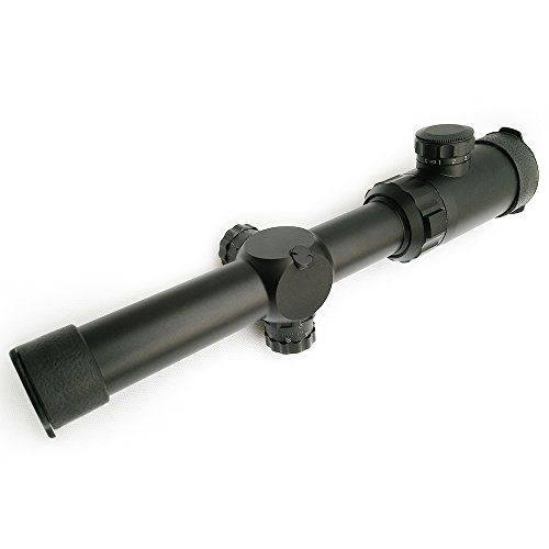 SECOZOOM Rifle Scope 6 Secozoom Mira Telescopica 30MM Diameter 1-10X24 w/e Adjustable Telescopic Sights