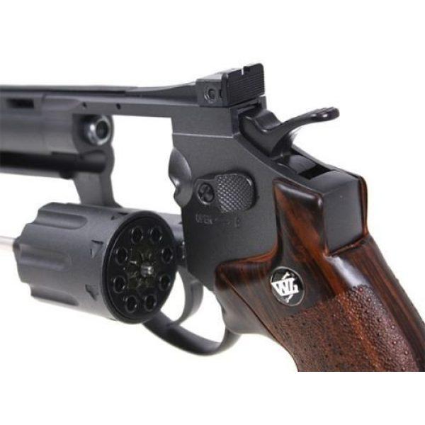 WinGun Airsoft Pistol 6 WG co2 powered air soft non blowback revolver airsoft pistol 4 barrel gun(Airsoft Gun)