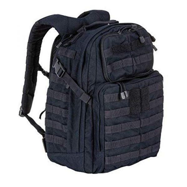 5.11 Tactical Backpack 5 5.11 Tactical RUSH24 Military Backpack, Molle Bag Rucksack Pack, 37 Liter Medium, Style 58601