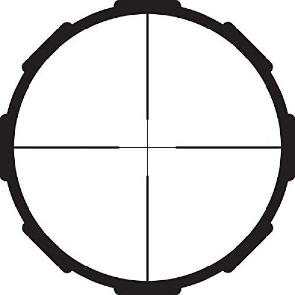 Crimson Trace Rifle Scope 5 Crimson Trace 3-9x40mm 1 Series Mid-Range Sport Riflescope with SFP, Duplex Reticle and Scope Rings for Hunting, Shooting and Outdoor