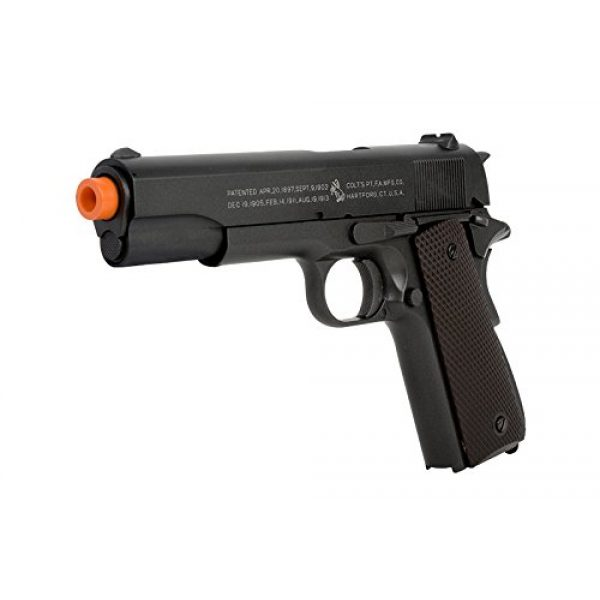 Colt Airsoft Pistol 3 Colt 100th Anniversary 1911 CO2 Full Metal Airsoft Pistol