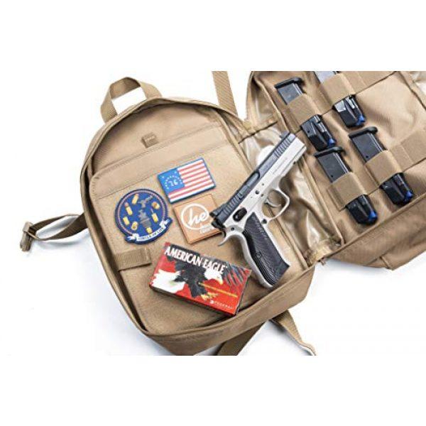 HACKETT EQUIPMENT Tactical Backpack 3 HACKETT EQUIPMENT Pistol Range Backpack - Tactical Backpack & Ammo Bag for Multiple Pistols