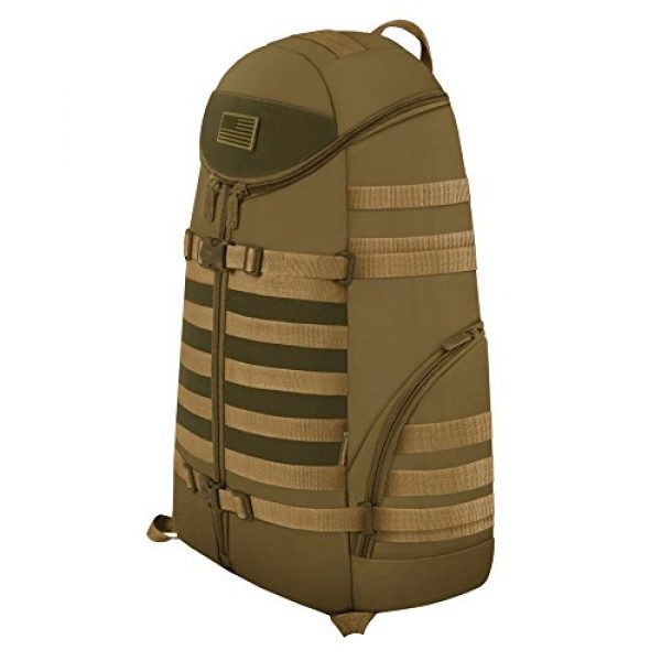 East West U.S.A Tactical Backpack 2 East West U.S.A RT516 Tactical Camouflage Trizip Molle Hunting Camping Hiking Assault Backpack