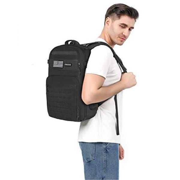 MOSISO Tactical Backpack 6 MOSISO Tactical Backpack, 3 Day Molle Rucksack Hiking Daypack Men Shoulder Bag