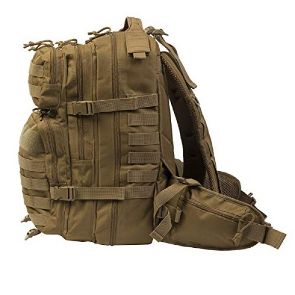 DEPARTED Tactical Backpack 5 DEPARTED Military Tactical Backpack, Assault Backpack, Hiking Bag, Army Molle