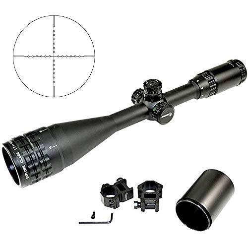 Sniper Rifle Scope 3 Sniper LT 4-16X50 Hunting Rifle Scope with Multi-Coated Lenses, Tri-Color Illuminated Reticle and AO Adjustment