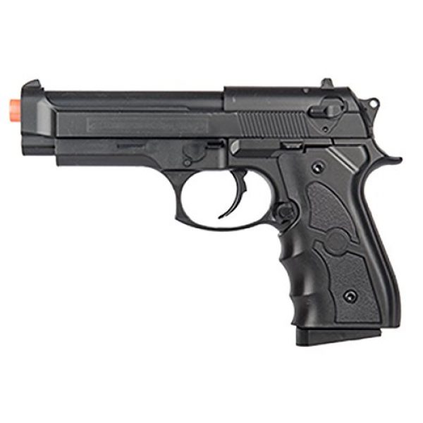 UKARMS Airsoft Pistol 2 UKARMS G52B Spring Powered Tactical Airsoft Pistol w/ 6mm BBS + Detachable Magazine