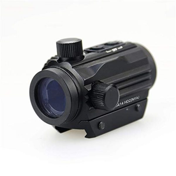 DJym Rifle Scope 6 DJym HD Silver Film Without Magnification, Red Dot Sight Shockproof Waterproof Stable Sight