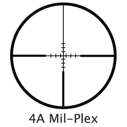 BARSKA Rifle Scope 5 BARSKA 3-9x40 Compact Contour IR 4A Mil Plex Riflescope