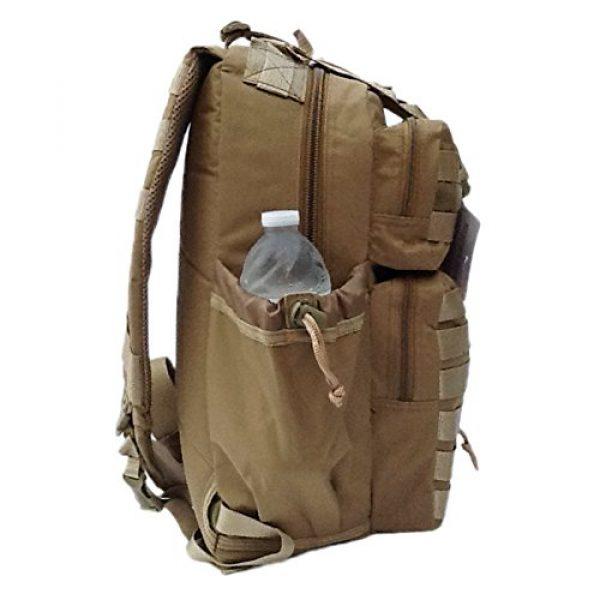 "Nexpak Tactical Backpack 6 18"" 1200cu. in. Tactical Sling Shoulder Hiking Backpack TL318 TAN"