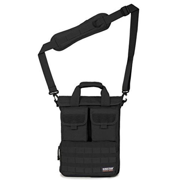 Seibertron Tactical Backpack 4 Seibertron Field Tech Shoulder Bag Tactical Response Laptop Attache Case