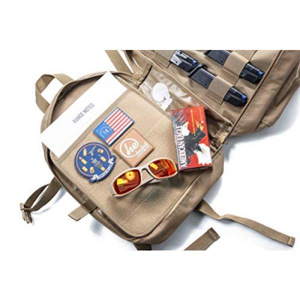 HACKETT EQUIPMENT Tactical Backpack 2 HACKETT EQUIPMENT Pistol Range Backpack - Tactical Backpack & Ammo Bag for Multiple Pistols