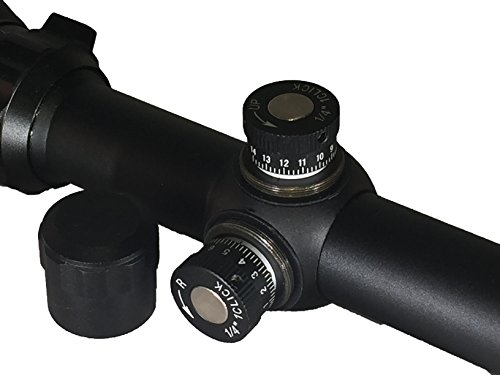 SG Sportsman's Gear Rifle Scope 6 SG Tactical 6-24X50 AOEG Rifle Scope with Red and Green Illuminated Crosshair with 50mm Objective Tube