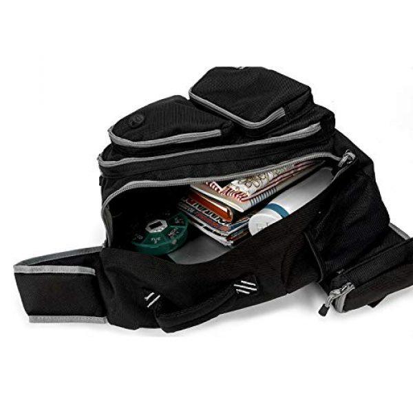 K-Cliffs Tactical Backpack 7 K-Cliffs Heavy Duty Sling Backpack Water-Resistant Laptop Bookbag Body Bag Bright Color Safety Reflective Stipe