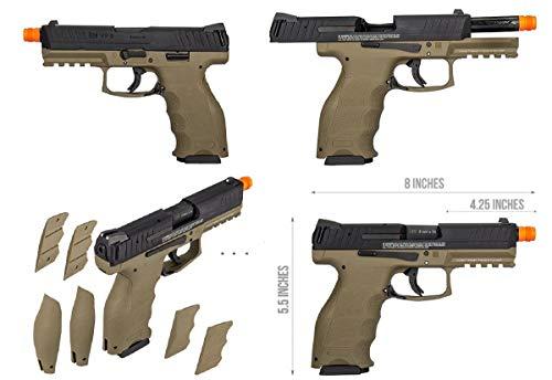 Wearable4U Airsoft Pistol 5 Wearable4U Umarex H&K VP9 Tactical GBB(VFC) Airsoft Pistol GBB Air Soft Gun Bundle