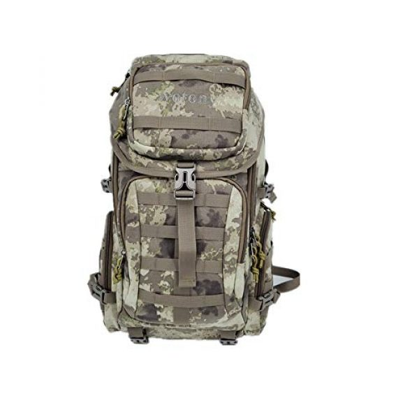Wotony Tactical Backpack 2 Military Tactical Backpack Large Army 3 Day Assault Pack Molle Bag Backpacks