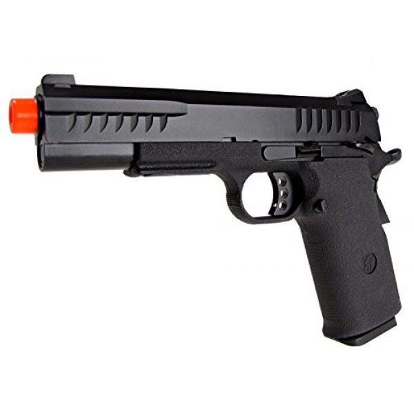 KJW Airsoft Pistol 2 KJW model-618 kp08 gas/co2 blowback full metal/black(Airsoft Gun)