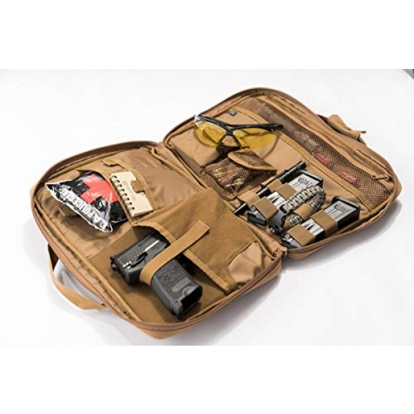 LA Police Gear Tactical Backpack 5 LA Police Gear Tactical Nylon Soft Pistol/Electronic Gear Case