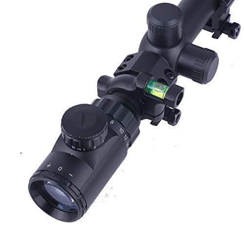 TACwolf Rifle Scope Scope Level 4 TACwolf Scope Sight Bubble Level for 1in / 30mm Tube to Precision Shooting Competition and Hunting