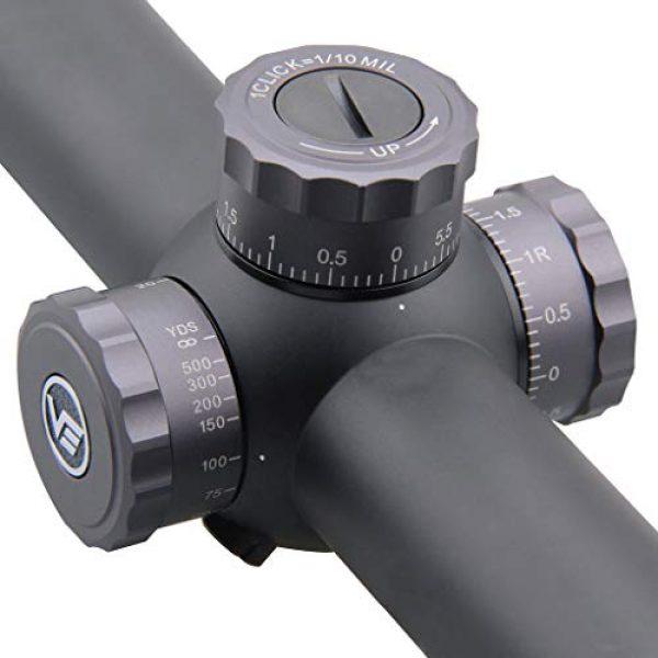 Vector Optics Rifle Scope 5 Vector Optics Marksman 4-16x44mm, 1/10 MIL, 30mm Tube, First Focal Plane (FFP) Hunting Riflescope