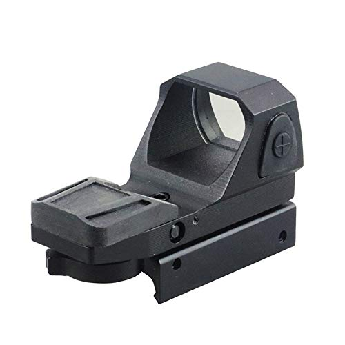 DJym Rifle Scope 4 DJym Button Red Dot Sight, Shockproof Stable Rifle Scope Suitable for Hunting Games