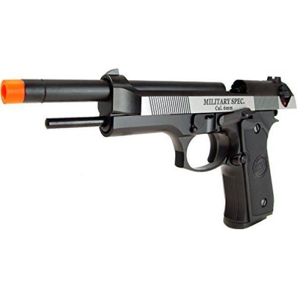 WE Airsoft Pistol 5 WE m92 long-a gas/co2 blowback full metal - black(Airsoft Gun)