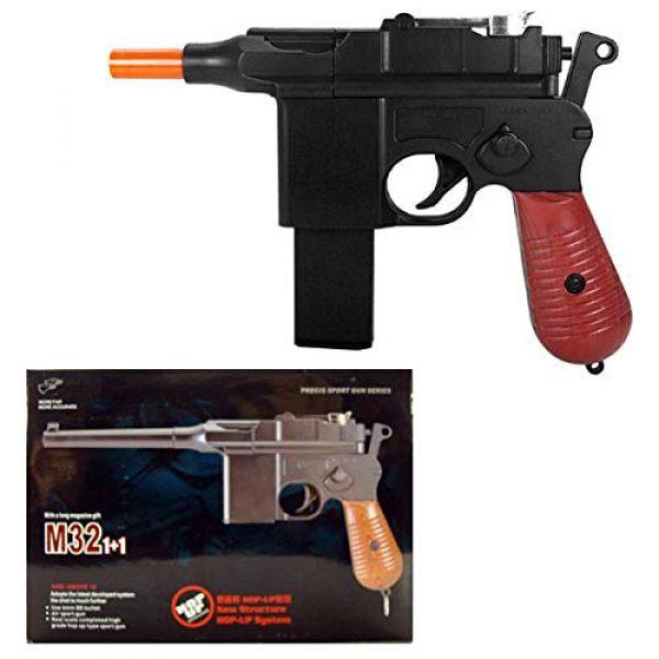 M32 Airsoft Pistol 4 WW2 New Airsoft Toy Gun German Mauser c69 Broomhandle with 2 Magazines Steampunk DIY