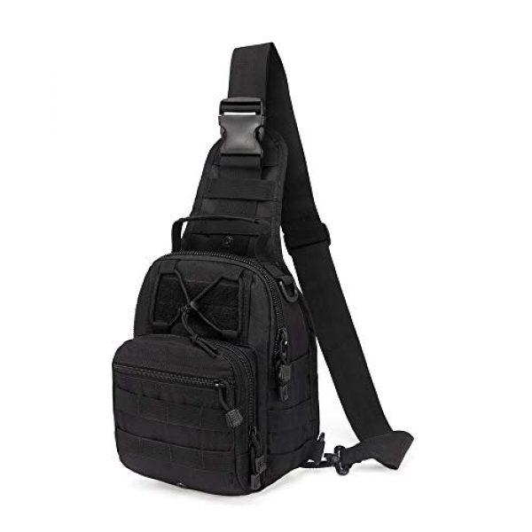 HAOMUK Tactical Backpack 1 HAOMUK Outdoor Tactical Backpack,Military Sport Bag Pack Shoulder Backpack