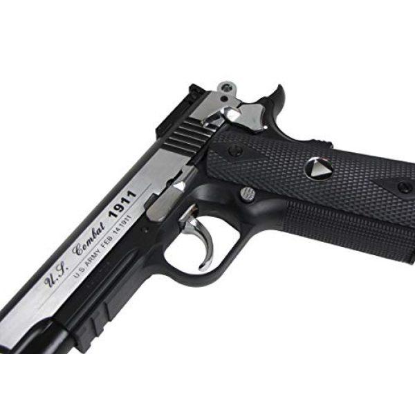 WinGun Airsoft Pistol 5 WinGun WG Special Combat Pistol 1911 CO2 Blowback Airsoft Gun Silver and Black