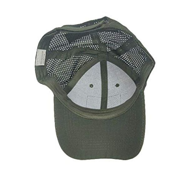 DOngRWF Tactical Hat 3 DOngRWF Outdoor Sport Hat Adjustable Strap Flex Air Mesh Tactical Cap Include 3 Pieces Tactical Military Patches