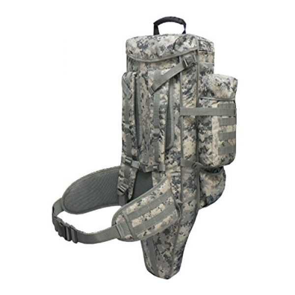 East West U.S.A Tactical Backpack 4 East West U.S.A RT538/RTC538 Tactical Molle Military Assault Rucksacks Backpack, ACU