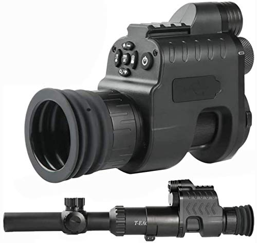 TTHU Rifle Scope 1 TTHU Rifle Scope Digital Video Recording Hunting Night Vision Monocular Camera VCR with 850Nm Infrared IR Flashlight for Outdoor Tactical Rifle Hunting