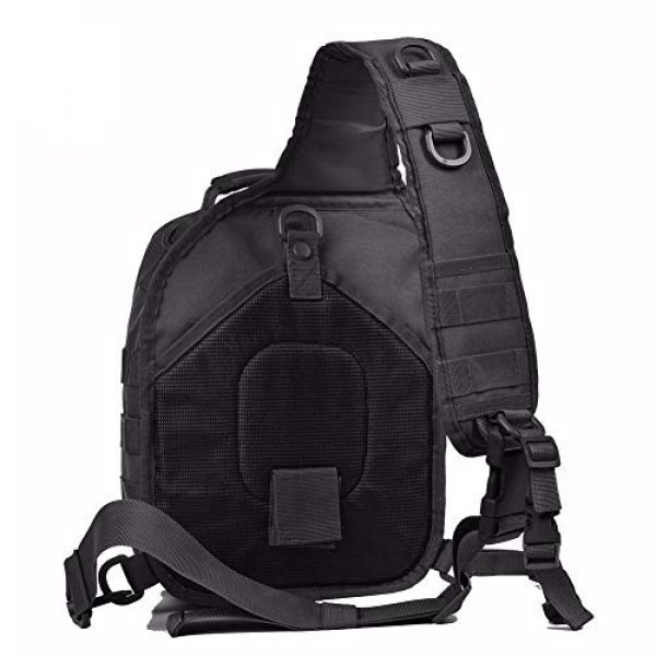 Tactic Ops Tactical Backpack 3 Tactical Sling Bag Backpack Pack Military Waterproof Assault Rover Shoulder Sling Molle Range Bag Everyday Carry EDC Diaper Bag Small Day Pack by Tactic Ops