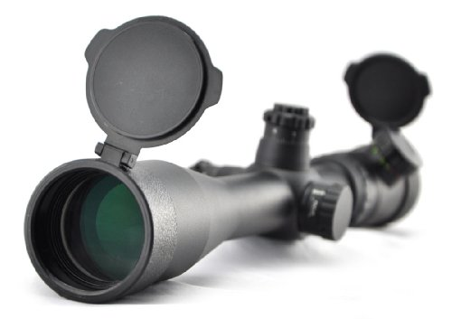 Visionking Rifle Scope 1 Visionking Rifle Scope 4-16x44 Side Focus Mil-dot Riflescope for Hunting Tactical Color (Black)