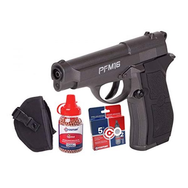 Crosman Air Pistol 1 Crosman PFM16 Full Metal CO2 BB Pistol Kit air pistol