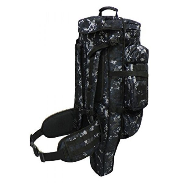 East West U.S.A Tactical Backpack 4 East West U.S.A Tactical Assault Rifle Backpack, Molle Webbing, Take Your Gun and Gear Anywhere, RT538/RTC538