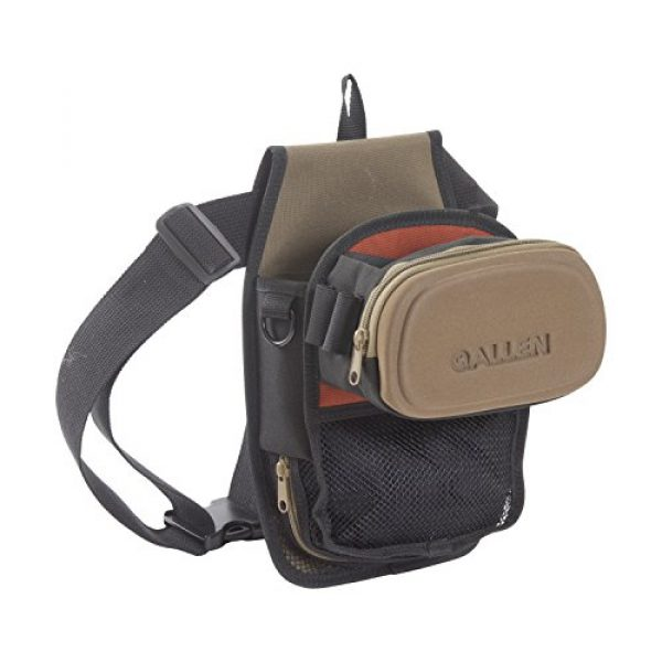 Allen Company Tactical Backpack 1 Allen Company Eliminator All-in-One Shooting Bag, Coffee/Black, One Size (8302)