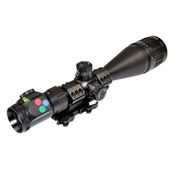Presma Rifle Scope 3 PRESMA 4-16X50AOL Precision Rifle Scope with Illuminated Red, Green, Blue RXR Reticle, AO Adjustment