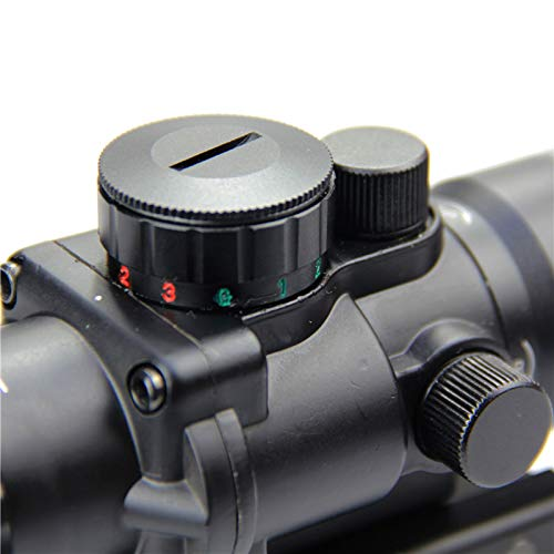 ZHRLQ Rifle Scope 6 ZHRLQ 3X Lens Optical Sight, Shockproof, Waterproof and Anti-Fog Adjustable Field of View, HD Bird Finder Accessories