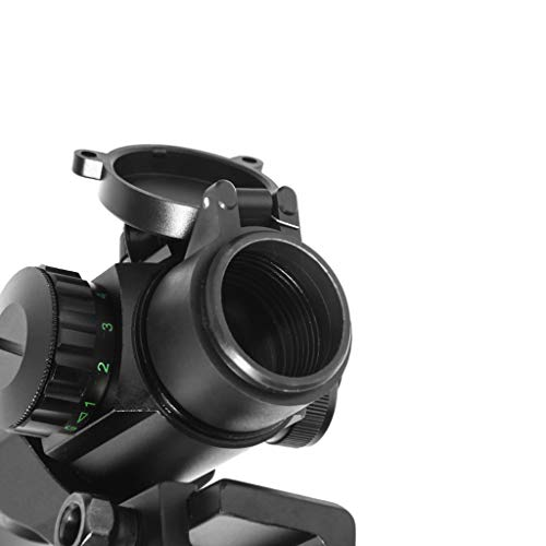 AJDGL Rifle Scope 6 AJDGL 1x30mm Red/Green Dot Sight with Mount- Optics Holographic Reticle Tactical Sight for Hunting Gun Rifle Airsoft Sniper Magnifier