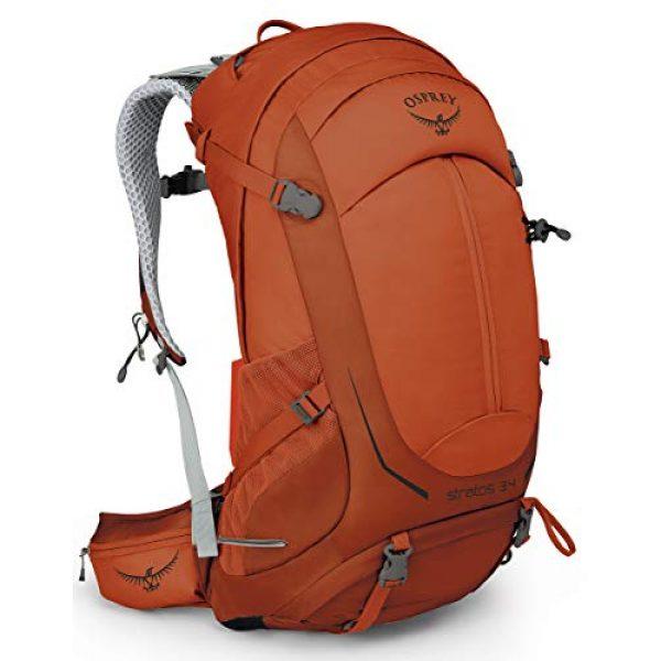 Osprey Tactical Backpack 1 Osprey Stratos 34 Men's Hiking Backpack