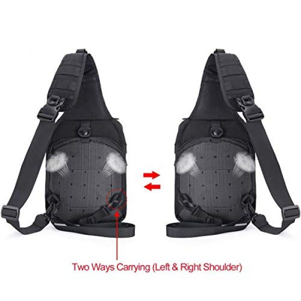MOSISO Tactical Backpack 7 MOSISO Tactical Backpack & Slingbag
