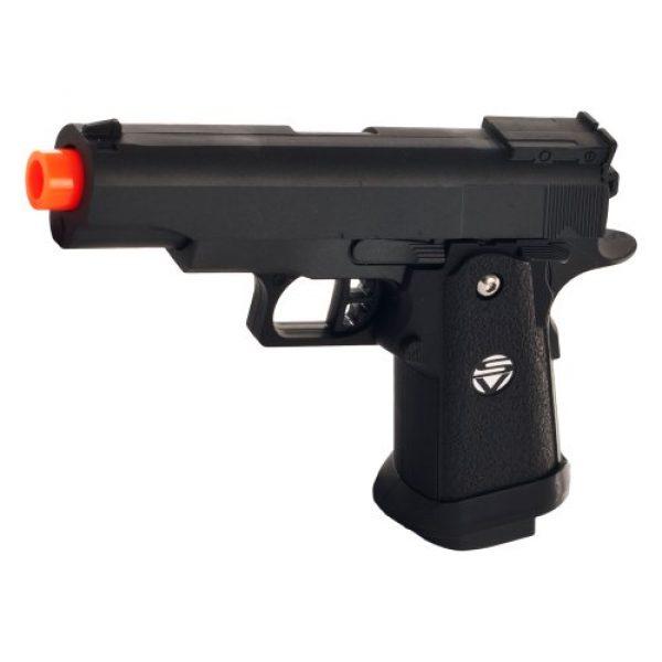 Whetstone Airsoft Pistol 1 Whetstone G.10 Zinc Alloy Shell Airsoft Pistol, Black