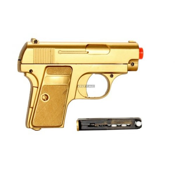 BBTac Airsoft Pistol 5 bbtac bt-p169(1+1) p169 airsoft pistol package, gold(Airsoft Gun)