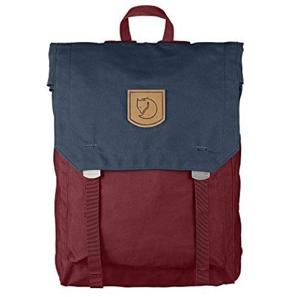 "Fjallraven Tactical Backpack 1 Fjallraven - Foldsack No. 1 Backpack, Fits 15"" Laptops, Ox Red-Navy"